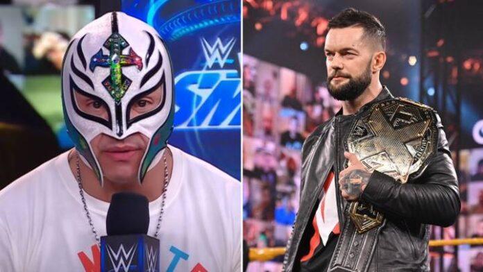 "Rey Mysterio: ""Mi piacerebbe un feud con Finn Balor"""